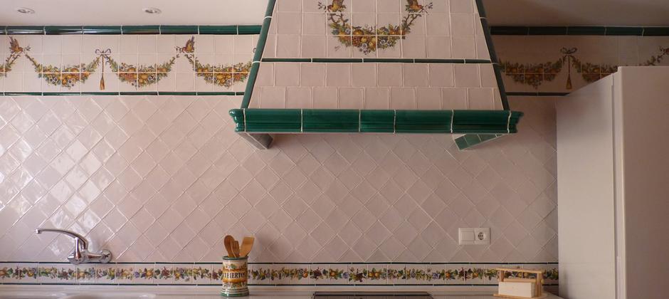 Azulejos de cocina artesanales xavier claur galer a - Azulejos artesanales ...