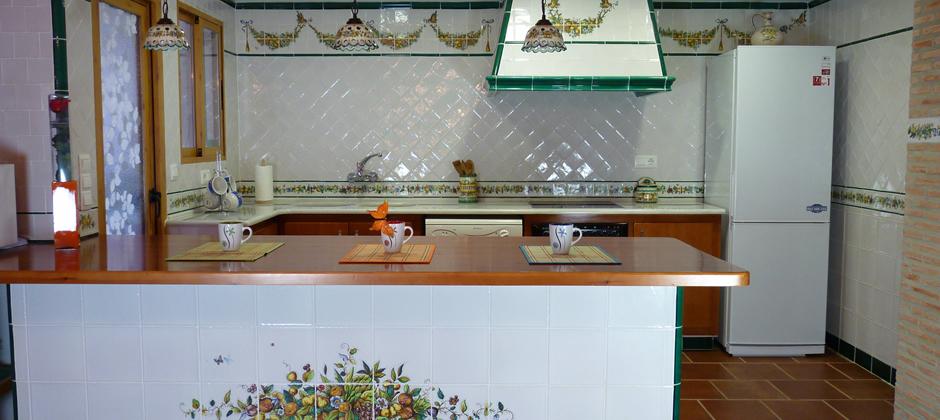 Azulejos de cocina artesanales xavier claur galer a for Azulejos antiguos para cocina