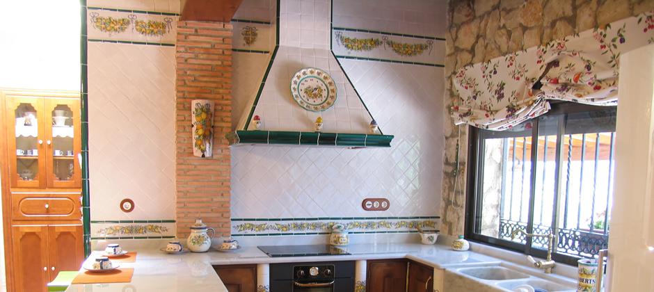 Azulejos de cocina artesanales xavier claur galer a 2 - Azulejos el pilar ...