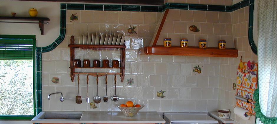 Azulejos de cocina artesanales xavier claur galer a 3 for Azulejos artesanales